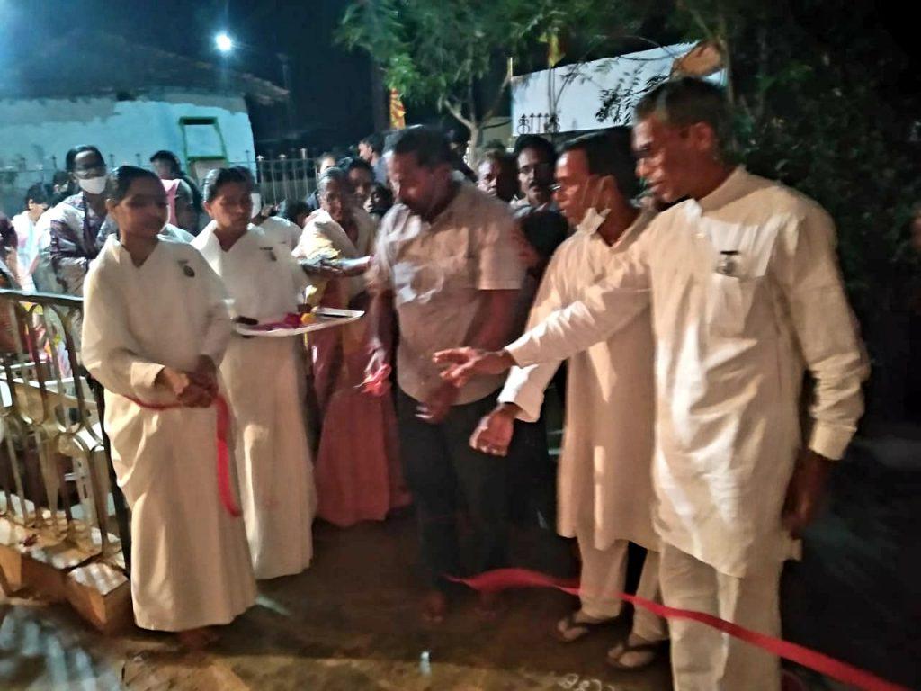 ह्माकुमारीज चंद्रपुर द्वारा पलसगाँव खुर्द (तलोधी)ता. नागभीड़ जी. चंद्रपुर में 20 फरवरी 2021 को विश्वनवनिर्माण आध्यात्मिक प्रदर्शनी का आयोजन